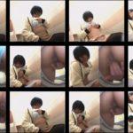 美少女トイレでオナニー!盗撮編vol01