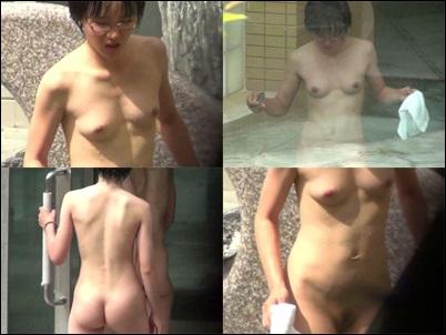 咲乱美女温泉-覗かれた露天風呂の真向裸体-ハイビジョン Vol63