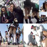 廃盤作品 ミミックさんの「夢の国」極秘潜入 制服女子パンチラ盗撮 Vol06