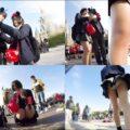 廃盤作品 ミミックさんの「夢の国」極秘潜入 制服女子パンチラ盗撮 Vol09