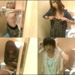 行列のできる女子トイレ鏡の中からこんにちは Vol3