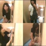 行列のできる女子トイレ鏡の中からこんにちは-Vol8