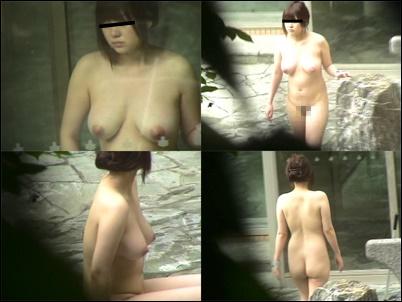 咲乱美女温泉-覗かれた露天風呂の真向裸体- No24