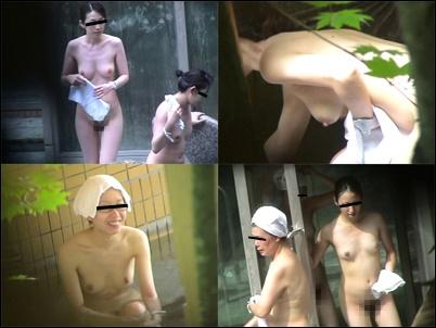 咲乱美女温泉-覗かれた露天風呂の真向裸体-お姉さま編 オムニバス Vol5